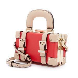 "RARE Kate Spade ""Mini luggage"" Trunk Crossbody Bag"